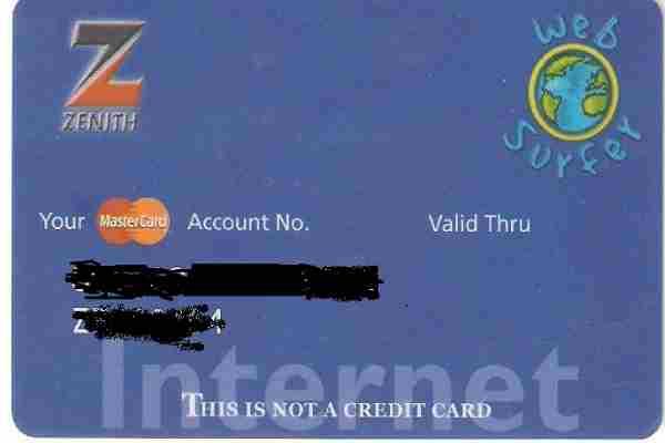 Zenith MasterCard WebSurfer