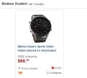 Bluboo Xwatch photo 2