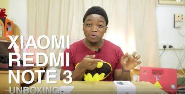 Xiaomi Redmi Note 3 Unboxing