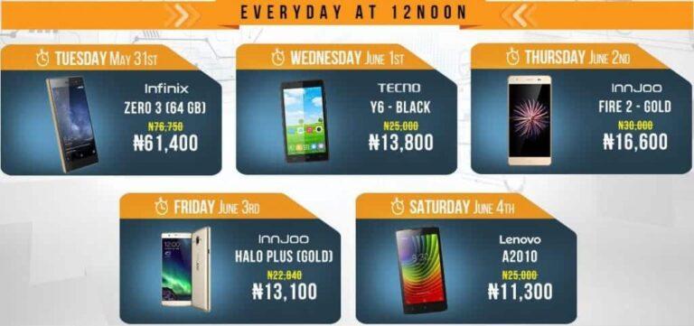 mobile week flash sales