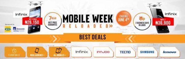 mobile week sales