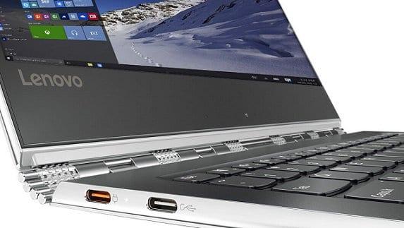 Lenovo Yoga 910 Ports