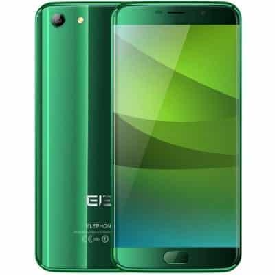 Elephone S7 Green Colour