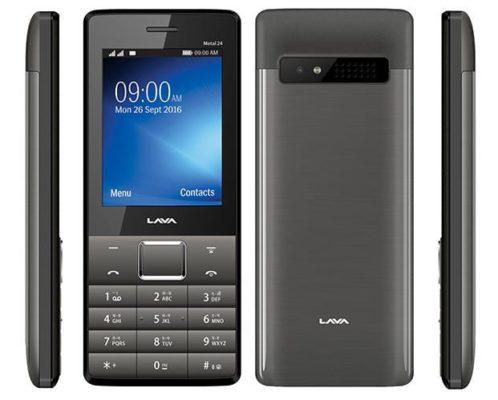 Lava Metal 24 Feature Phone