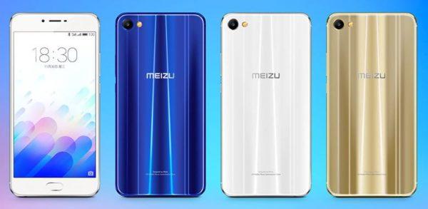Meizu M3X Colour Variants