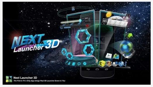 Next Launcher 3D Shell