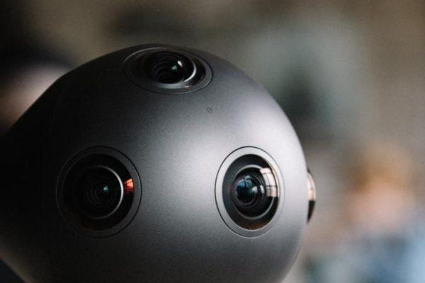 Nokia OZO 360-degree VR camera