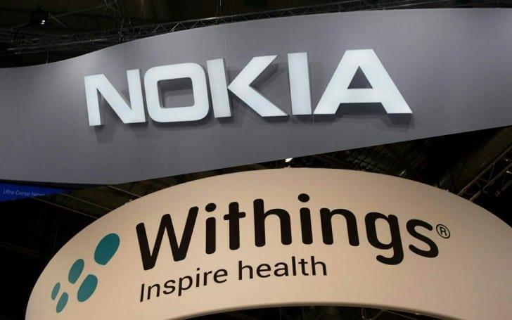 Nokia Withings hooldings