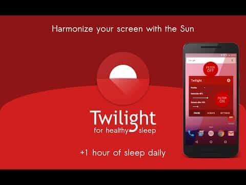 Twilight Android app