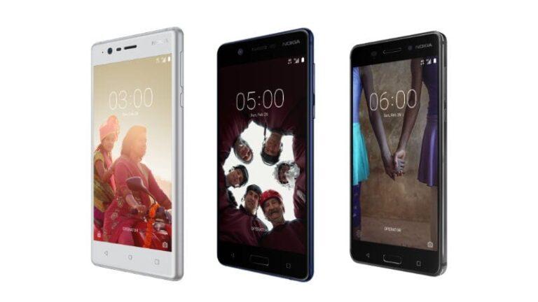 Nokia 3 Nokia 5 Nokia 6 MWC 2017 1488132370066