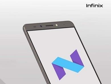 Infinix Anroid 7.0 Nougat update