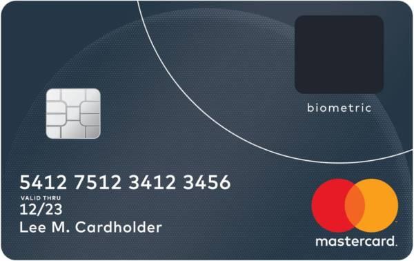 MasterCard Fingerprint card