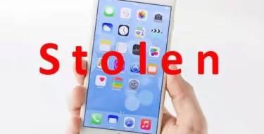 Activate Stolen iPhone