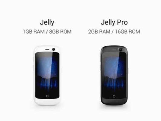 Jelly 4G smartphone