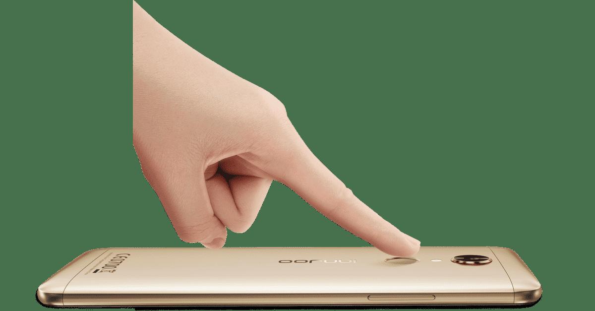 Innjoo Fire 4 Fingerprint sensor