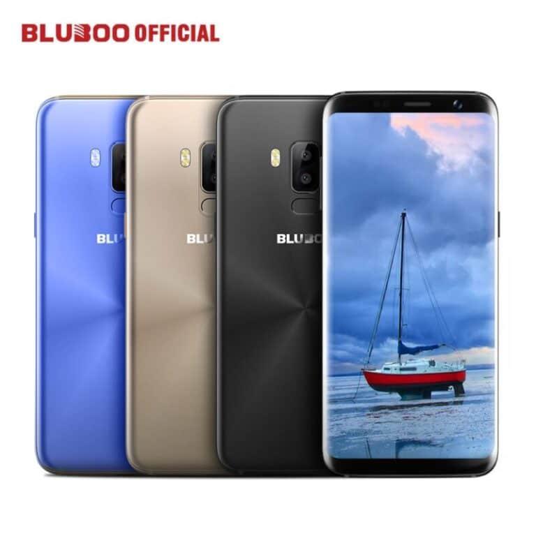 Bluboo S8 5 7 HD 18 9 Full Display 4G Smartphone MTK6750 Octa Core 3GB RAM
