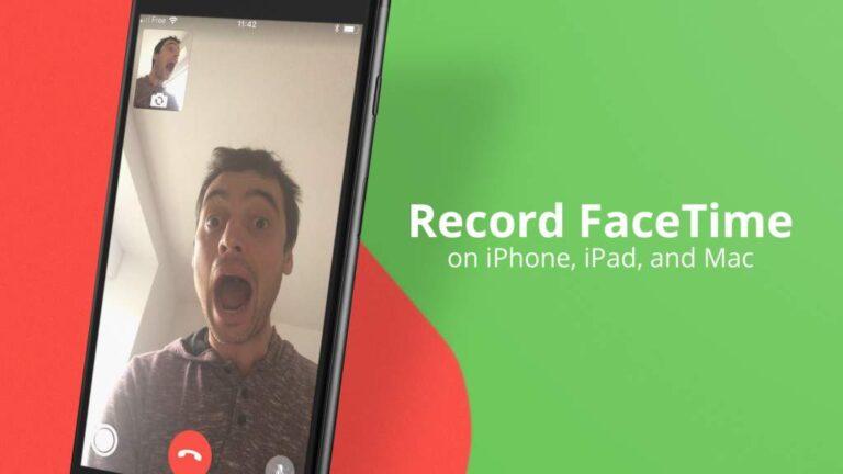 Record FaceTime calls