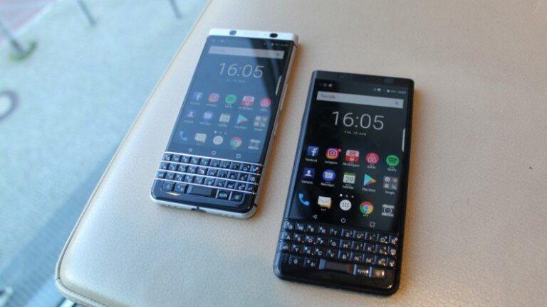 BlackBerry Key2 vs BlackBerry KeyOne