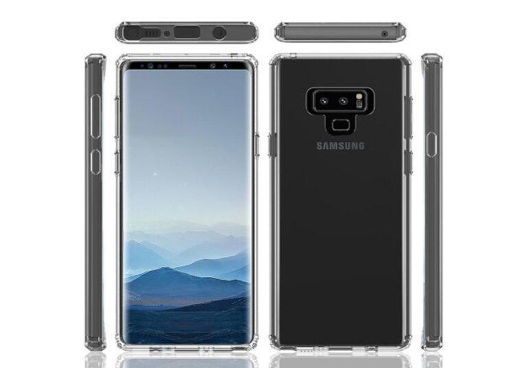 Samsung Galaxy Note 9 leak 1