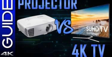 Smart TVs VS Projectors