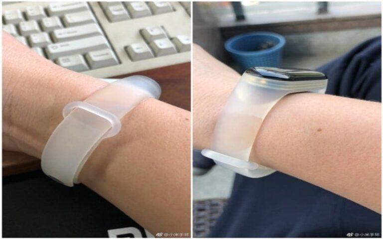 Xiaomi Mi Band 3 Explorer Edition translucent band