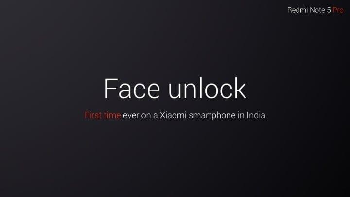 face unlock xiaomi