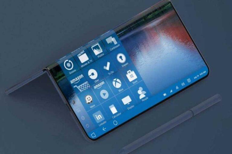 microsoft foldable surface phone feature