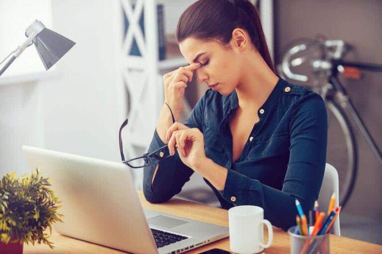 Monitor settings to avoid eye strain