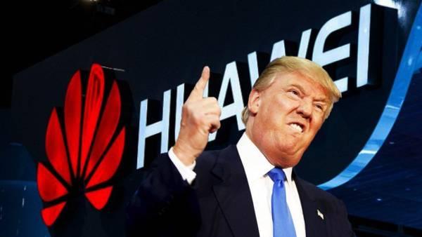 Donald Trump on Huawei Ban
