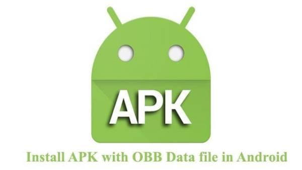 Install Game APK + OBB File