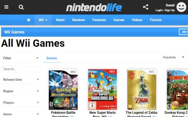 Download Nintendo Games Free