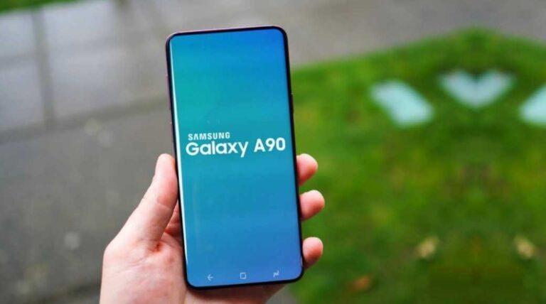 Smartphone leaks Samsung A90