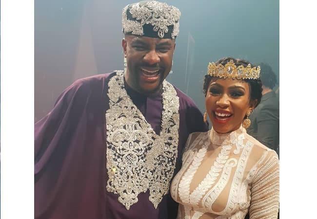 Ebuka Obi Uchendu and BBNaija winner Mercy Eke
