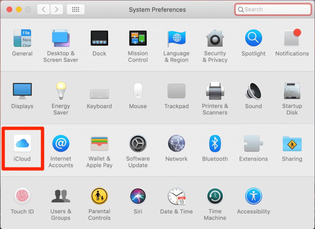 Notes iPhone Mac iCloud