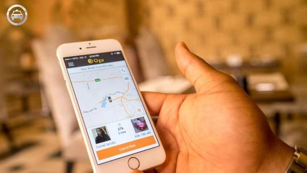 Install Oga Taxi App