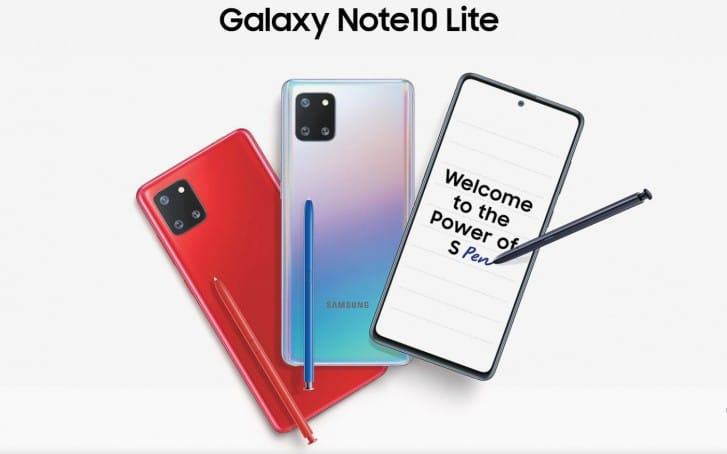 Samsung Galaxy Note10 Lite 1
