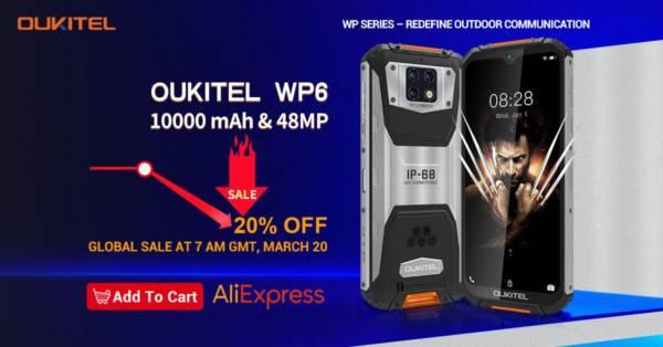 OUKITEL WP6 Global Sale