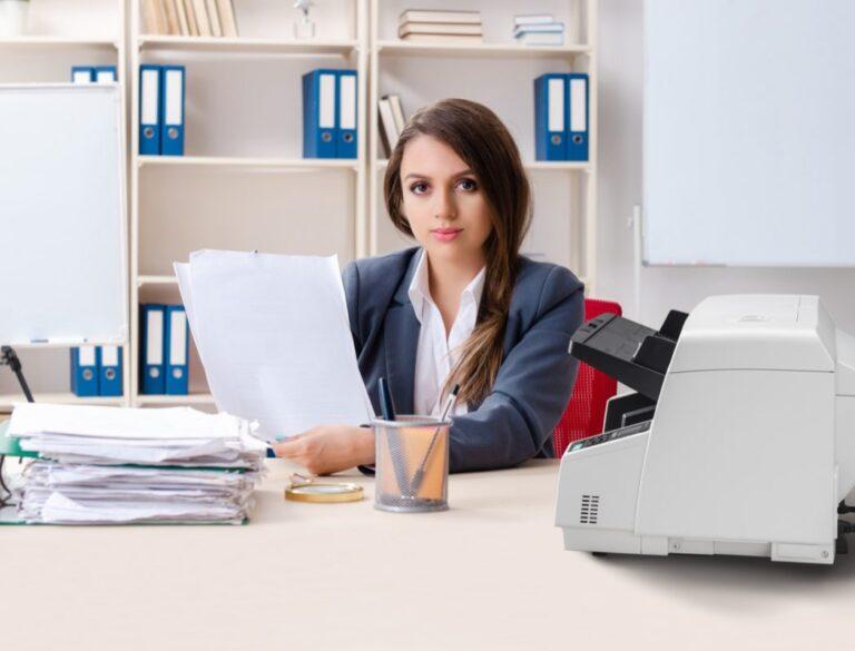 Panasonic KV S5078 business scanner