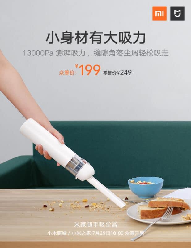 the new Mijia Vacuum Cleaner