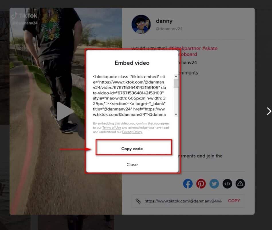 Embed TikTok Videos In WordPress