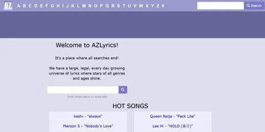 Az Lyrics