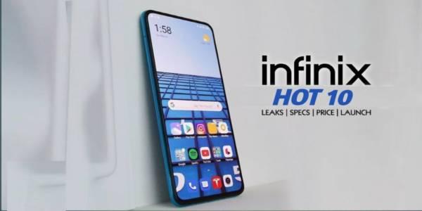 Infnixhot10