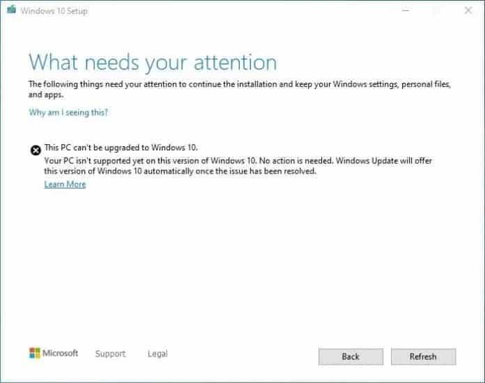 Updates On Windows 10