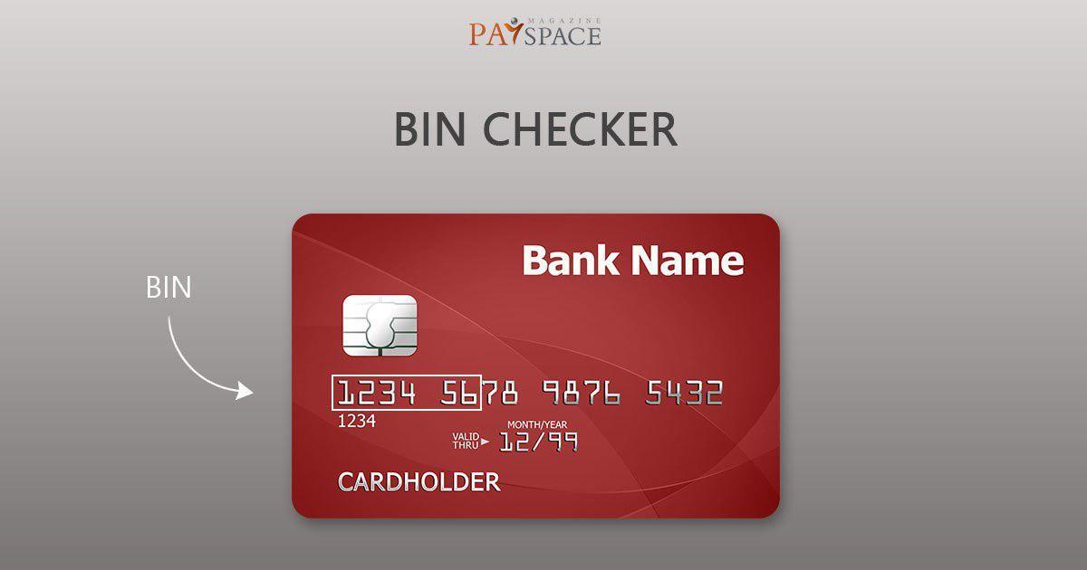Bin On Card
