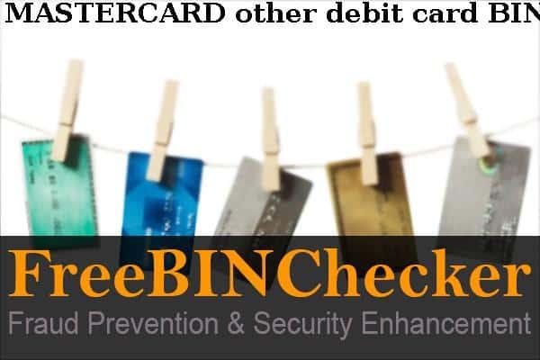 Mastercard Other Debit Card Bank Img