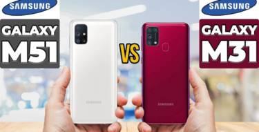 Samsung Galaxy M51 Vs Samsung Galaxy M31
