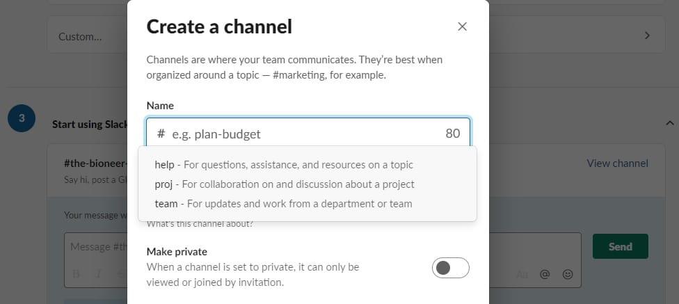 Use Slack Productivity Teamwork