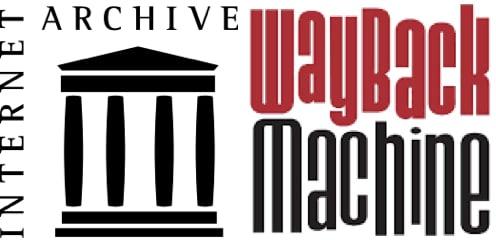 The Internet Archive Wayback Machine