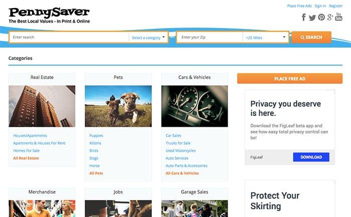 Pennysaverusa Website