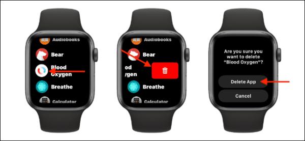 Change App Layout Apple Watch